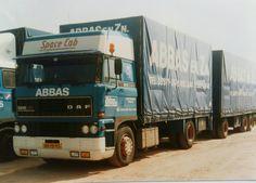 DAF FA 2800 Ati 4x2 spacecab met tautliner aanhanger van Abbas te Finsterwolde