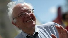 """""""When the media worries about what Hillary's hair looks like or what my hair looks like, that's a real problem,"""" Bernie Sanders said. """"We have millions of people who are struggling to keep their heads above water, who want to know what candidates can do to improve their lives, and the media will very often spend more time worrying about hair than the fact that we're the only major country on earth that doesn't guarantee health care to all people."""""""