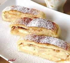 Strudel, Baking Recipes, Food And Drink, Sweets, Cooking, Ethnic Recipes, Life, Decor, Cooking Recipes