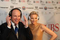 Prince and Princess of Monaco with DiamondTears
