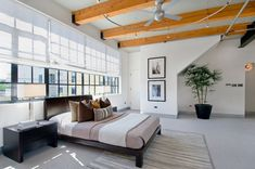 Best interior design loft images ideas attic spaces