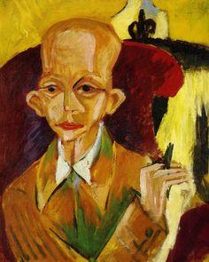 El Museo de Alberto: Portrait d'Oskar Schlemmer