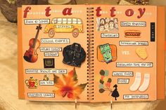 an awesome fall page!
