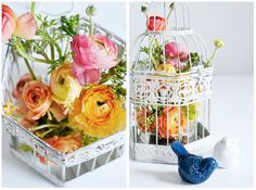 Birdcage Flowers for Spring | CASA & Company