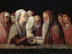 Giovanni Bellini (Giambellino) · Presentazione al Tempio · 1465-66 · Fondazione Querini