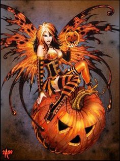 Photo of Fairy Of Halloween for fans of Fairies. fairy of halloween Halloween Fairy, Halloween Photos, Halloween Artwork, Modern Halloween, Halloween Tattoo, Halloween Drawings, Halloween Jack, Halloween Night, Halloween Cards