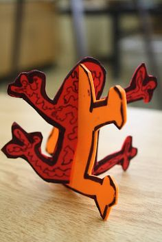 Dali's Moustache Keith Haring sculptures 4th