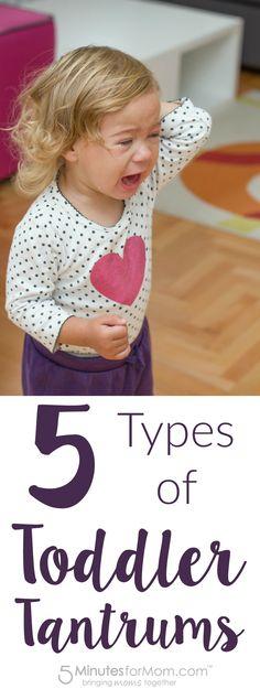 5 Types of Toddler Tantrums - Parenting Humor
