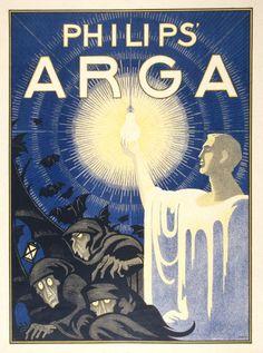 hahn 1919 philips' ARGA lightbulb