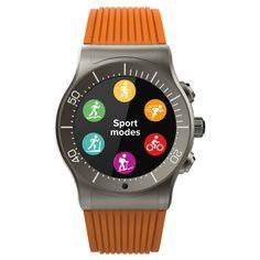 MyKronoz ZeSport Multisport Gps Smartwatch - Orange/Titanium, Mesmerizing Orange