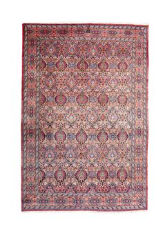 CENTRAL PERSIAN CARPET POSSIBLY KIRMAN, LATE 20TH CENTURY 313CM X 211CM - SALE 427 - LOT 445 - LYON & TURNBULL