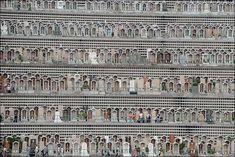 Multi-Story Graveyard in Hong Kong