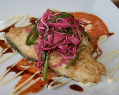 """Trout at """"The Local"""" Charlottesville Virginia"""