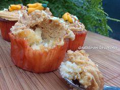 Gástalo en la cocina: Muffins y magdalenas de plátano y caramelo