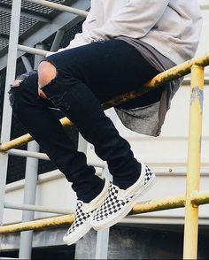 751e87f0c799 Ways to Wear  Vans Checkerboard Sneakers
