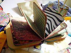 altered board books   Altered board books