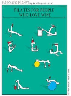 Wine Pilates!