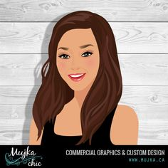 Meet Michelle. I designed her an avatar 7 years ago. Today we are celebrating her getting more vibrant with a brand new avatar. Want an avatar? Contact me www.mujka.ca