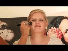 Foto Make up für  Vintage Fotoshooting, Make up Schablone Cinderalice, Foto Make up,Konturieren und highlighten - Auf Fotos gut aussehen mit Make up Schablone - YouTube