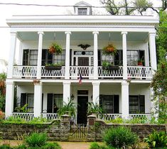 New Orleans, Louisiana  My kids sang in this house, on a Christmas trip one year.
