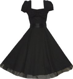 Pretty Kitty Fashion 50s Schwarz Cocktail Kleid S Pretty Kitty, http://www.amazon.de/dp/B006X0OHB4/ref=cm_sw_r_pi_dp_95KDrb0QHJHRA