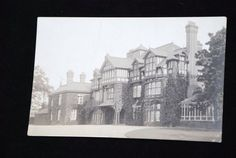1920-th UK ENGLAND buildings architecture VINTAGE old PC photo c13