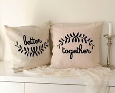 Better together sign 40x40 est sign mr and mrs burlap by lptshirt