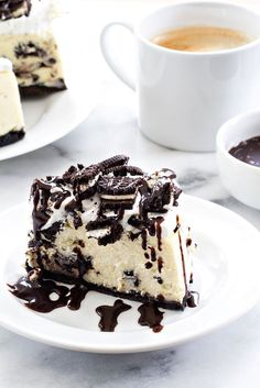 Instant Pot Oreo Cheesecake may just be the easiest cheesecake you'll ever make. It's the perfect size for a small family celebration or weeknight dinner!