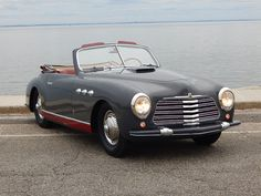 1951 Simca Abarth SC Cabriolet Maintenance of old vehicles: the material for new cogs/casters/gears/pads could be cast polyamide which I (Cast polyamide) can produce