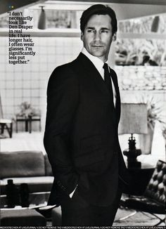John Hamm's old hollywood glamour | NETROBE