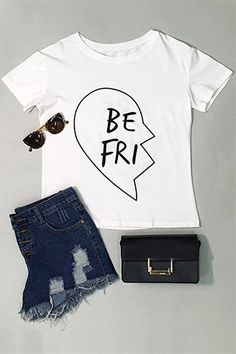 We're just here to make you happy. Get it at $12.99 now! Simple, sleek and incredibly casual, Funny Day Letter Casual T-shirt is an effortless way to make you feel ultra feminine. Shop more hot pieces at Cupshe.com !