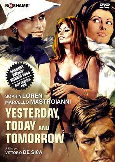 Directed by Vittorio De Sica. With Sophia Loren, Marcello Mastroianni, Aldo Giuffrè, Agostino Salvietti. Stories about three very different women and the men they attract.
