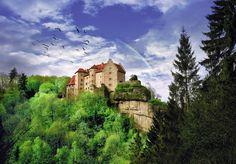 #Burg Rabenstein #Fränkische Schweiz #Bayern