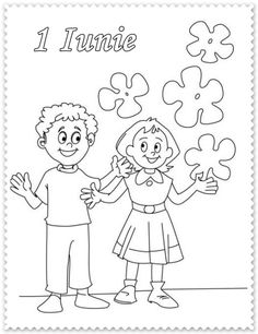 Children's Day Wishes Coloring Page Card Earth Day Coloring Pages, Cool Coloring Pages, Free Coloring, Coloring Sheets, Coloring Books, Happy Children's Day, Happy Kids, Children's Day Greeting Cards, Teachers Day Speech