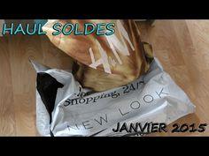 HAUL soldes Janvier 2015 H&M, newlook, fnac