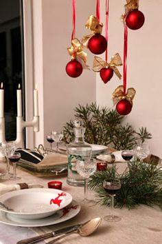 Naklejkowy Wigilijny stół