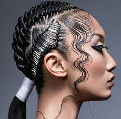 Braids and finger waves