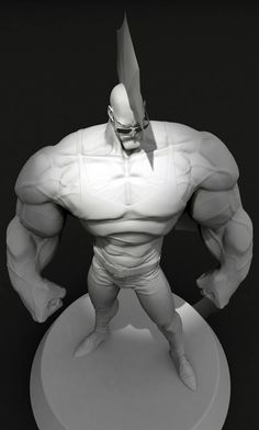 ArtStation - Savage Dragon fan art, Charlie Cunningham ★ Find more at http://www.pinterest.com/competing/