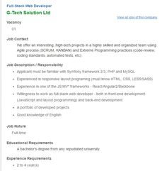 Sysnova Information Systems Limited  Assistant Manager Software