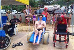 Blog do Cadeirante: Praia Legal