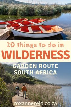 What to do in Wilderness on the Garden Route in South Africa? Find out 20 things to do in Wilderness South Africa, among the most beautiful of Garden Route attractions. Think hiking, canoeing, national parks, mountain biking, Ramsar wetland, birding, beaches, mountain passes, paragliding, Garden Route restaurants, shopping and markets. #nature #Wilderness #GardenRoute #SouthAfrica