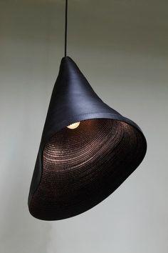 organic lamp shade — hyungshin hwang