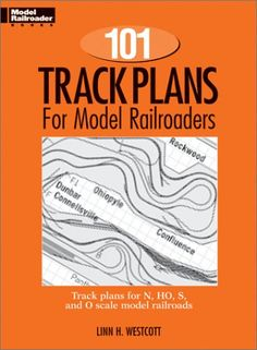 One Hundred and One Track Plans for Model Railroaders (Model Railroad Handbook, No. 3)... Includes data and instruction for converting plans to different scales, tips on how to build a layout from plan, and how to choose the plan best suited to a particular space ... #Modeling #ModelRailroading #Railroading #Books #RairoadModeling