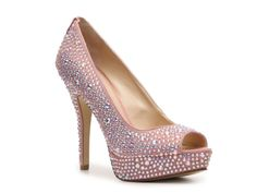 Enzo Angiolini Show You Pump - DSW    Makes me think about creating my own rhinestone she.
