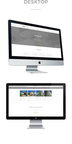 Woodou - website by Michele Mazzucco, via Behance