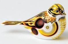 Royal Crown Derby 2014 Yellowhammer Paperweight
