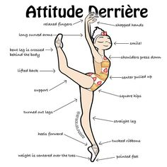 Attitude Derrière Strawberry shortcake and a bit of attitude. #ballet