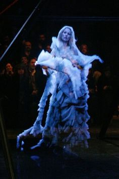 """Alexander McQueen's """"The Ghost of Kate Moss."""""""