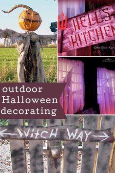 Outdoor Halloween decorating ideas | eBay