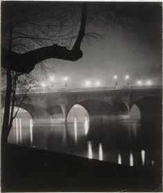 Le Pont Neuf. Brassaï